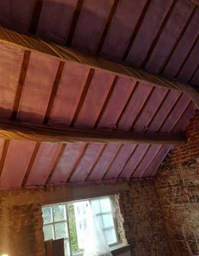 Barn conversions can be brought up to date with today's modern building regulations.